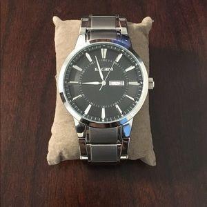 Other - Elgin stainless steel waterproof watch